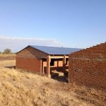 Malawi School Project - Roof In Place